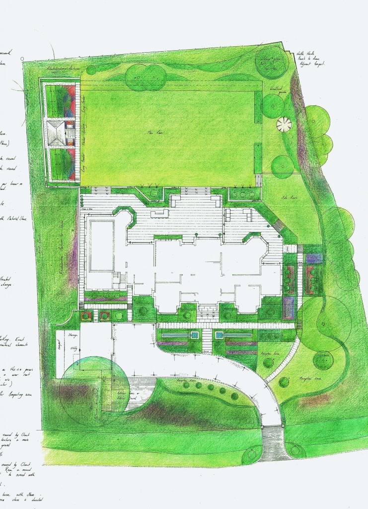 Planning Specifications Construction Drawings Garden And Landscape Designgarden And